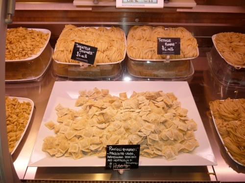 fresh pasta at Eataly