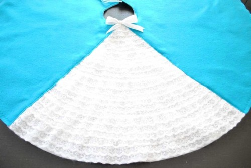 eco-felt tree skirt