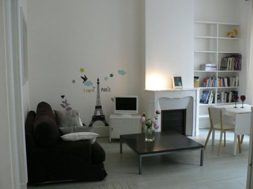appartement blanc paris