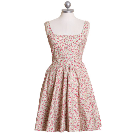 frolicking through wildflowers dress from Ruche